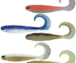 Chasebaits Paddle Tail Lures