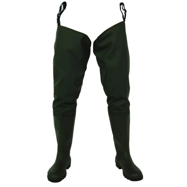 Nylon Extra Strong Camouflage Chest High Waders