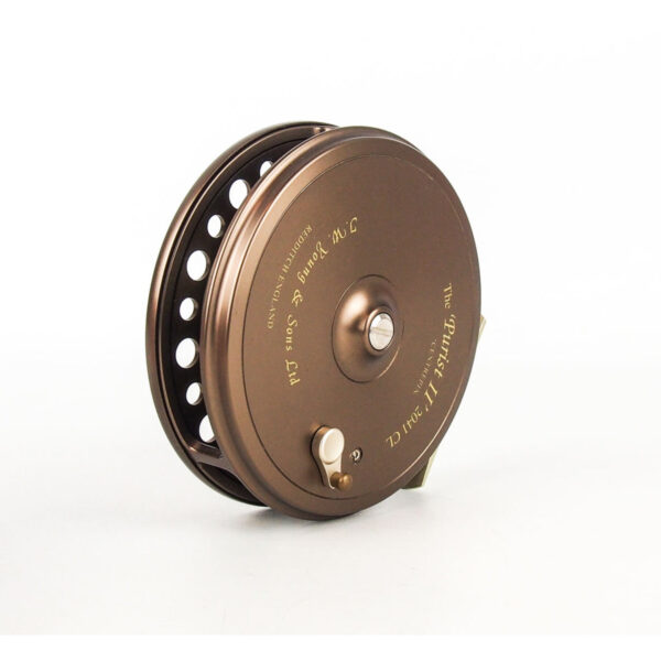 """JW YOUNG """"THE PURIST II"""" 2041 CL 4 1:2″ CENTRE PIN REEL"""